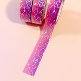 Magick Moonlight Foiled Washi Tape