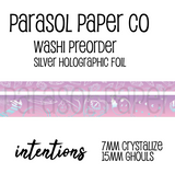 Ghouls Intentions Foiled Washi Set