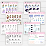Planner Girl Micro Sticker Book - Haley