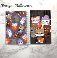reusable sticker book halloween