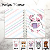 reusable sticker book planner