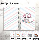 reusable sticker book planning