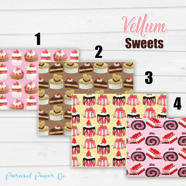 Sweets - Vellum and Cardstock Paper