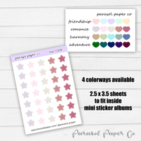 Tiny To-Go Sheet - Stars - TG02