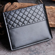 Load image into Gallery viewer, fashion Men Wallets Leather Card Cash Receipt