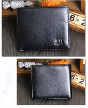 Load image into Gallery viewer, style PU leather hasp design men's