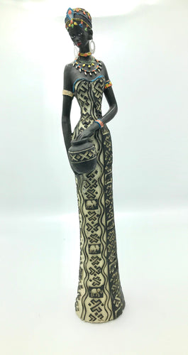 African Woman Figure