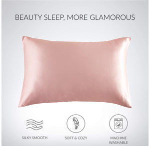 Satin Pillowcases- Set Of 2- For Healthy Skin & Hair