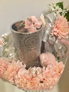 Pink and Lovely Valentine's Day Basket