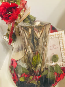 Red and Lovely Valentine's Day Basket