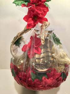 Fabulous Poinsettia Basket