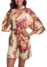 Load image into Gallery viewer, Floral Robe