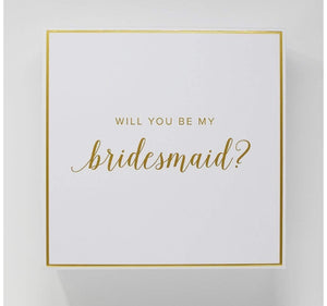 Bridesmaid Proposal Gift box