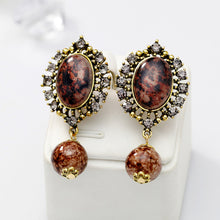 Load image into Gallery viewer, Fashion Zircon earrings love heart