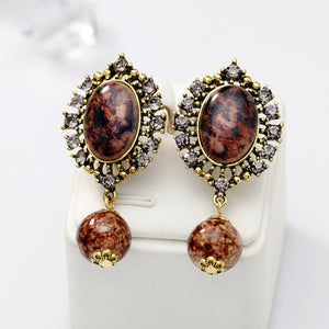 Fashion Zircon earrings love heart