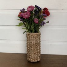 Load image into Gallery viewer, Banana Leaf Handwoven Vase