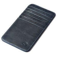 Load image into Gallery viewer, fashion black leather card holder men super