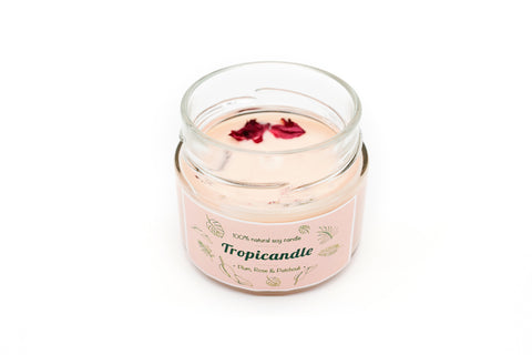 Tropicandle - PLUM, ROSE & PATCHOULI