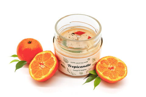 tropikalia-cosmetics.myshopify.com - Tropicandle - ORANGE & TANGERINE