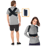 Comfortable Upper Back Brace for Women and Men