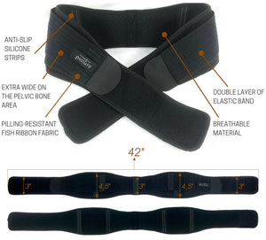 Trochanteric belt for size small