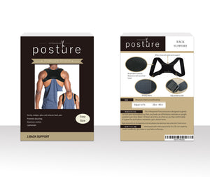 Posture corrector for men and women stylish box