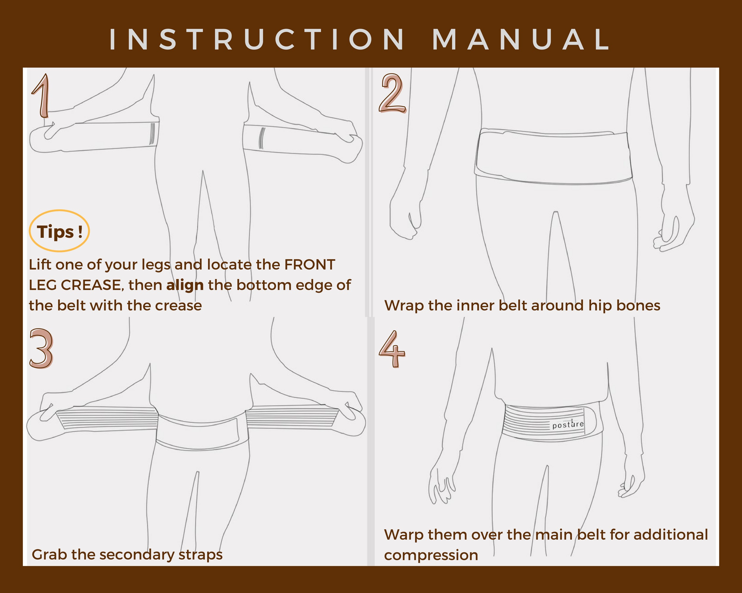 manual for Sacroiliac belt