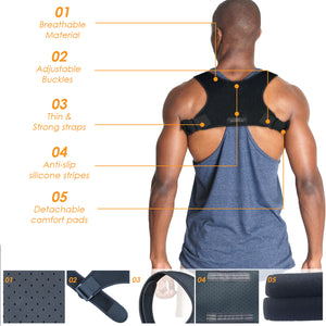 upper back brace Clavicle and Shoulder Support