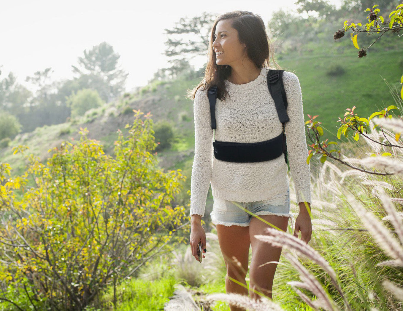 Posture corrector for women for outdoor use