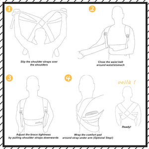 Posture corrector instruction manual