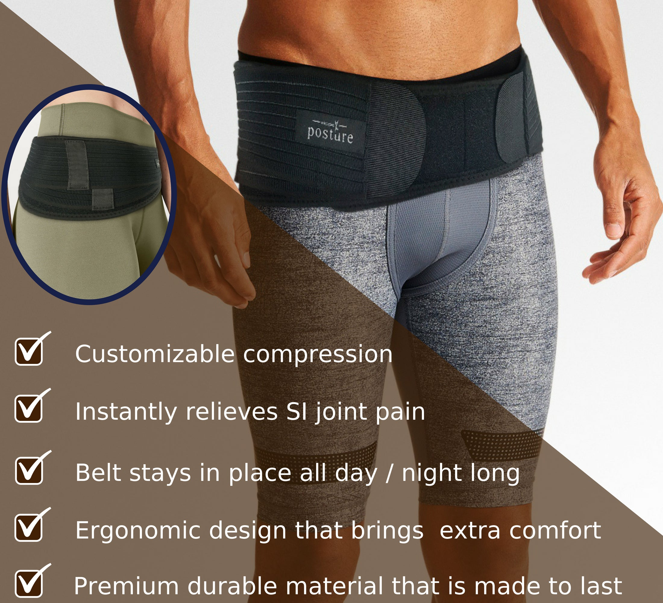 sciatica belt for men that relieves back pain