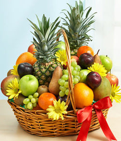Fruits and Food Basket
