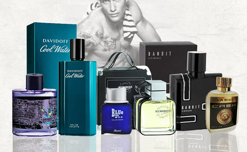 Perfumes, Sprays and Splash