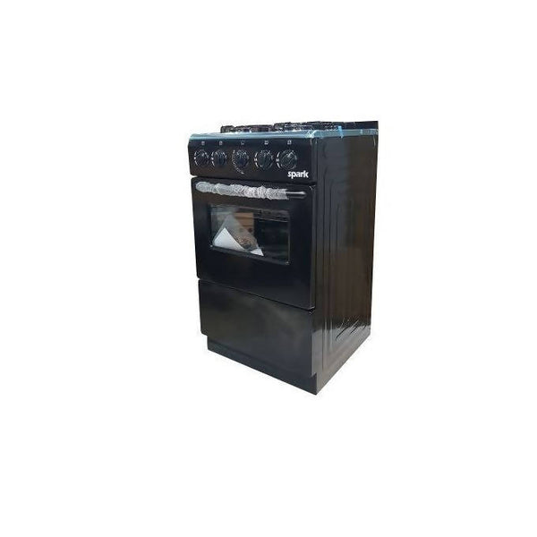 Spark 50*50, Full Gas + Oven P5040G-B – Black