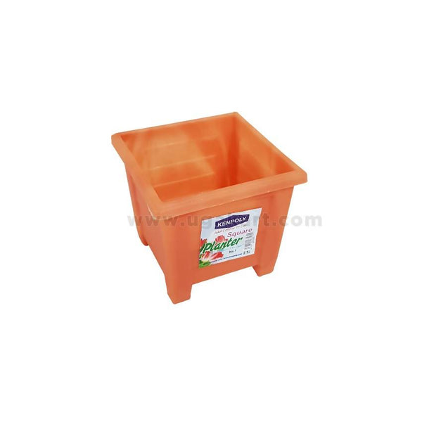 Kenpoly Square Plastic Planter No.1