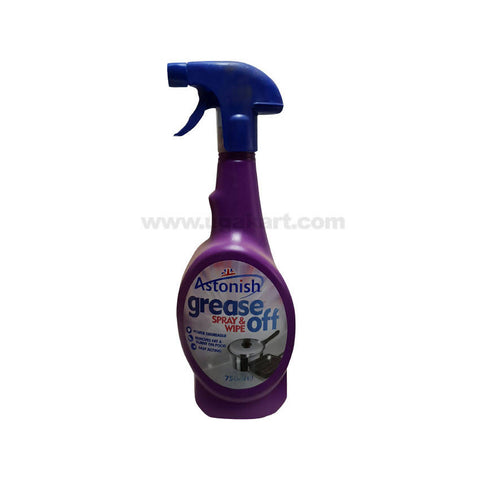 Astonish Grease off Spray & Wipe_750ml