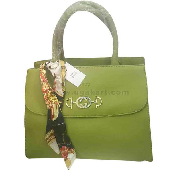 GUCCI Light Green Womens hand Bag