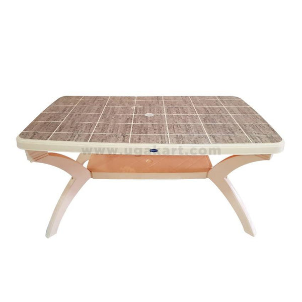 Kenpoly Plastic Wood Finish Table