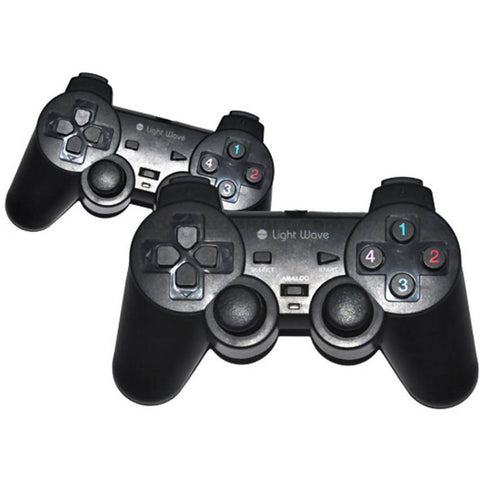 Light Wave USB Double Shock Controller