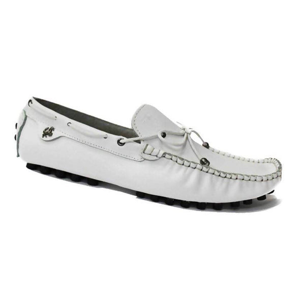 Tods White Moccasin