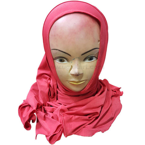 Hijab Red Headscarf