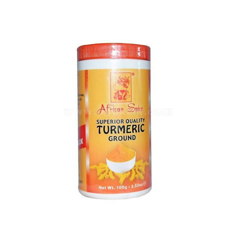 African Spices Turmeric Ground 100gm