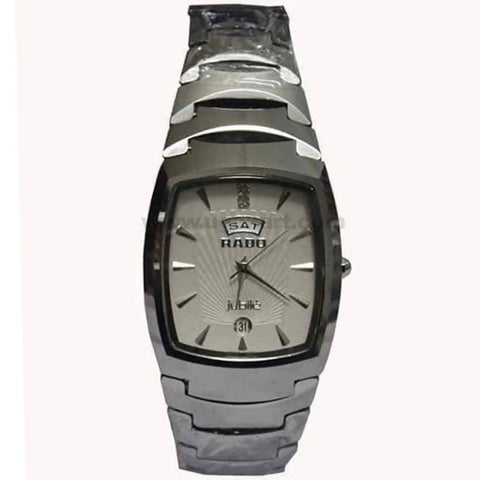 RADO Silver Stainless Steel Jointed Strap Men's Watch