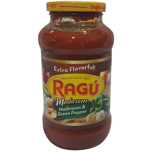 Ragu Mushroom and Green Pepper Sauce, 680g