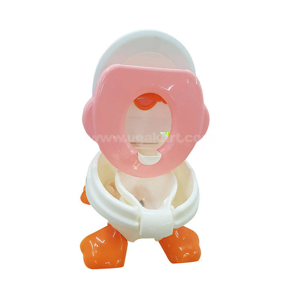 Baby Toilet Trainer Potty Seat For Kids With Duck Shape
