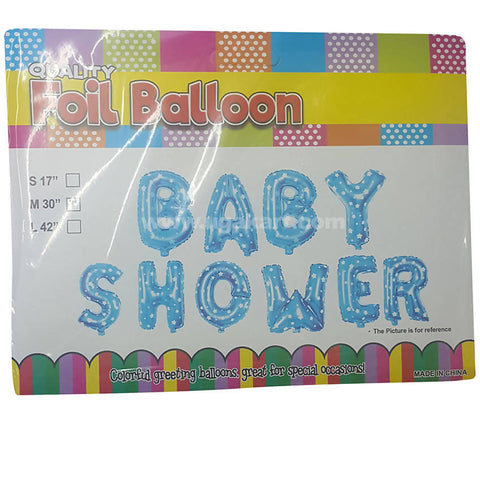 Baby Shower Colorful Greeting Balloons