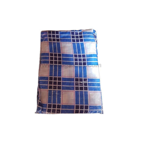 3*6 TWO BedSheetS_Blue Check