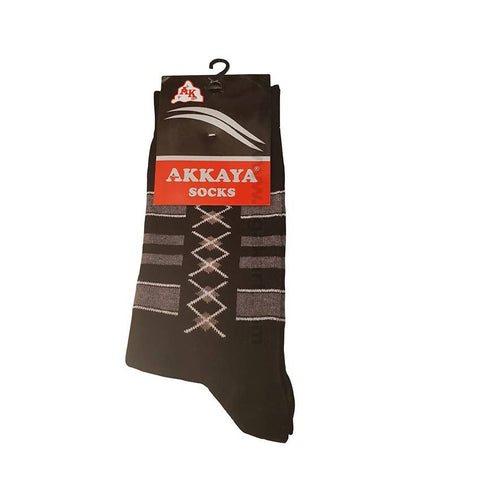 Akkaya Socks_Black & Gray