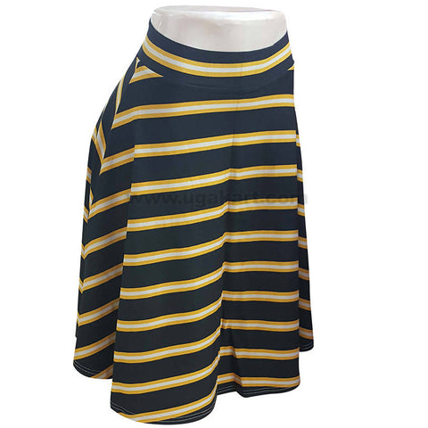 Women's Skirt Black and Yellow