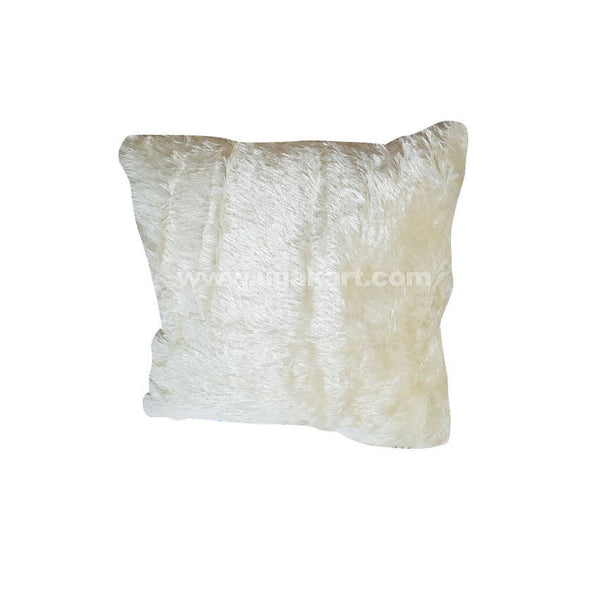 White Wool Cushion